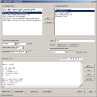 Main configuration window under Windows 2000